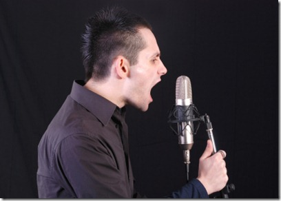 Yelling Through The Microphone